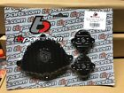 Kawasaki KLX110 DRZ 110 Billet Engine Covers BLACK Cam & Tappet TB Parts TBW1443