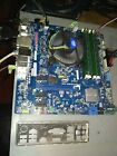 Combo Intel Motherboard DH77EB  CPU i5 2500K with Heatsink  8GB DDR3 RAM