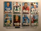 1954 Bowman Football complete set 128 cards nice set but has tape on the corners