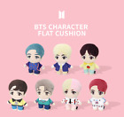 BTS Official Character Plush Flat Soft Body Cushion Doll Authentic Goods
