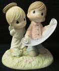 NIB 2009 Precious Moments Chapel Figurine  109006 We Are Always in His Plan