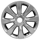 Remanufactured 18X8 Alloy Wheel 8 Spoke Smoked Hyper Silver Painted