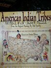 500 Piece PUZZLE Native AMERICAN INDIAN TRIBES From Oil Painting Artist Bill