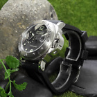 ⭐ WOW! Parnis Watch Mens 316L SS 44mm LUMINOR MILITARE Automatic Seagull 2555