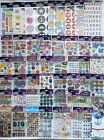Lot of 50 Packs Scrapbooking Stickers All Sticko Many Themes No Duplicates New