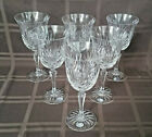 Rogaska Richmond Crystal Water Goblet Wine Glass Set of 6