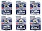 HOT PURSUIT SERIES 35 SET OF 6 POLICE CARS 1 64 DIECAST BY GREENLIGHT 42920