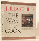 Julia Child The Way to Cook INSCRIBED Signed 1st Edition 1989