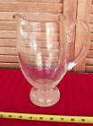 Vintage CONTROLLED AIR BUBBLE PAIRPOINT PAPERWEIGHT PITCHER GLASS 9 1 2