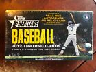 2012 Topps Heritage Hobby Box Factory Sealed : Mike Trout