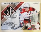 2015-16 UD Upper Deck SP Game Used Edition Hockey Factory Sealed Hobby box
