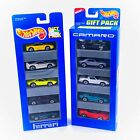 Lot Of 2 Hot Wheels 5 Packs Ferrari 1993  Camaro 1995
