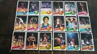 Partial Set 1979-80 Topps 41 132 EXMINT To NRMT Vintage Basketball Cards