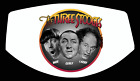 The 3 Three Stooges Moe Curly Larry Custom Face Mask
