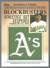 2012 Topps Update Series Baseball Blockbusters Patch Cards Guide 47