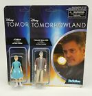 New Funko ReAction Tomorrowland Lot of 2 Action Figures Frank Walker and Athena