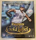 2016 Topps Gold Label Baseball Factory Sealed Hobby box FREE SHIP WORLDWIDE!