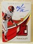 2018 Immaculate Collection Collegiate Football Cards 19
