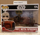 Funko Pop Rey with Speeder #174 Star Wars Celebration Orlando 2017 LE