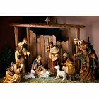 Yeele 10x8ft Birth of Jesus Photography Backdrop Christ Christmas Manger Scene F