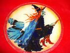 Retired Peggy Karr Halloween Witch 8 1 2 Plate