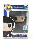 Funko Pop! Jim With Armor #466 Trollhunters - 2017 Fall Convention Exclusive