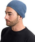 SnugZero - 100% Cotton Over-The-Ear Beanie Kufis with Ribbed-Knit in Solid | for