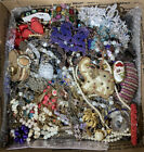 6 Pounds ALL WEAR Vintage To Now Layered Box Estate Some Signed + CROWN