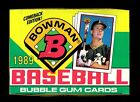 1989 BOWMAN BASEBALL WAX BOX - FROM NEW CASE