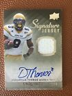 2010 Exquisite Collection Signature Jersey 64 99 Demaryius Thomas Rookie Auto GT