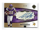 2007 UD Ultimate Collection Gold Adrian Peterson ROOKIE auto 21 25