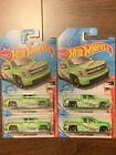 Hot Wheels 2020 Chevy Silverado Treasure Hunt Lot Of 4A