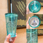 Starbucks Limited Glass Straw Cup 473ml Large Capacity Desktop Drinking Tea Cup