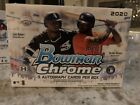 2020 Bowman Chrome Baseball Factory Sealed HTA Choice Box 3 Autographs per box
