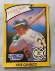 1989 Starting Lineup 1986 ROY Jose Canseco Oakland A's Baseball Card