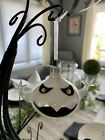 Pier 1 Imports Halloween Ornament Glass Ghost