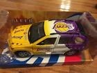 Los Angeles Lakers 1 24 Scale Fleer NBA Diecast BMW X5 Basketball Collectible