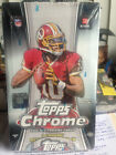 2012 Topps Chrome Football Hobby Box Factory Sealed 1 Chrome Autograph per box