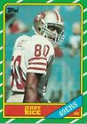 1986 TOPPS FOOTBALL COMPLETE SET 1-396 RICE & YOUNG ROOKIES IN A BINDER