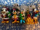 New Disney Christmas Mercury Glass Ornament Set Mickey Mouse  Friends In Box