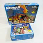 Playmobil Christmas Lot Childrens Nativity Set  Three Wise Men Holiday Toys