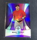 2010 Bowman Platinum Purple #PP5 MIKE TROUT Rookie Baseball Card Angels Nice