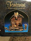 Fontanini Heirloom Musical Lighted Nativity 5 Figures 54224 Plays Silent Night