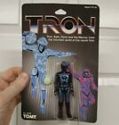 TRON Figure FACTORY SEALED Clear Bubble 1982 Tomy Disney