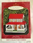 Hallmark Christmas Ornament 1st in the Town & Country Series 1999 FARM HOUSE