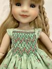 Ruby Red Fashion Friend Boneka Green Print Dress 36cm Kish 16 Doll Joe