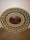 Vintage Unique Hand Carved Wood Fish  Woven Wicker Basket Native Tribal