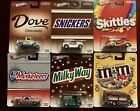 Hot Wheels Pop Culture Mars Candy Set Of 6 Mint Cards