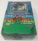1989 SCORE NFL Football Trading Card BOX 36 Factory Sealed Packs BBCE Wrapped