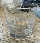 NIB Orrefors Crystal Street Double Old Fashioned Glass Tumbler